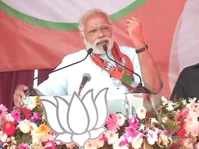 Video : PM Modi's Last Campaign Push For Varanasi