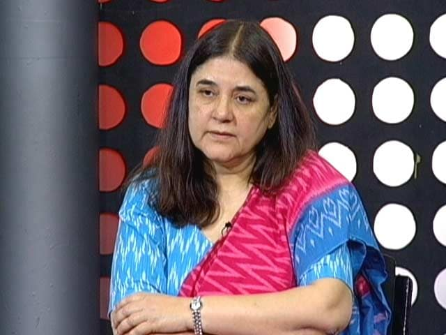 Video : How Minister Maneka Gandhi Deals With Opposition Within Government