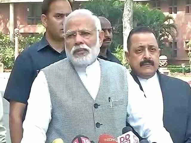 Video : As Parliament Meets, PM Modi Stresses GST Reform's Importance