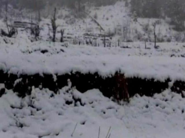 Videos : उत्तर भारत में ठंड लौटी, शिमला और कुफरी में बर्फ पड़ी