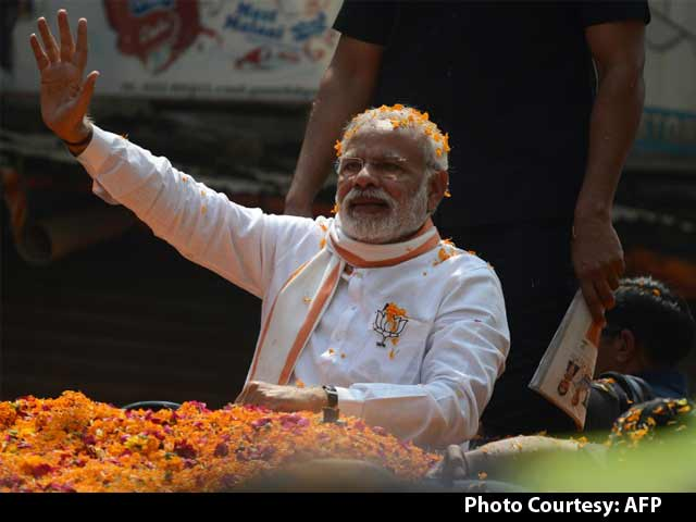Video : Modi Super-Wave Brings Saffron Holi For Uttar Pradesh