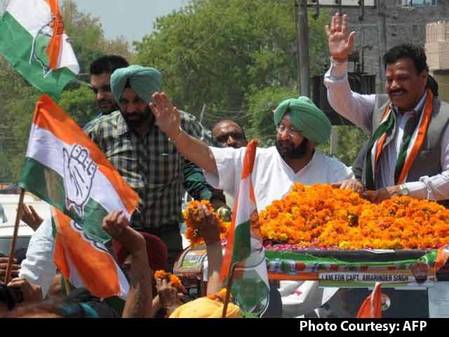 Video : On 75th Birthday, Captain Wins Punjab, AAP Didn't Even Come Close