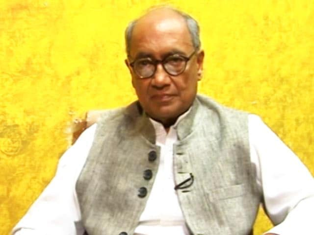 Video : Stepping Down Of Rahul Gandhi Not Possible: Digvijaya Singh