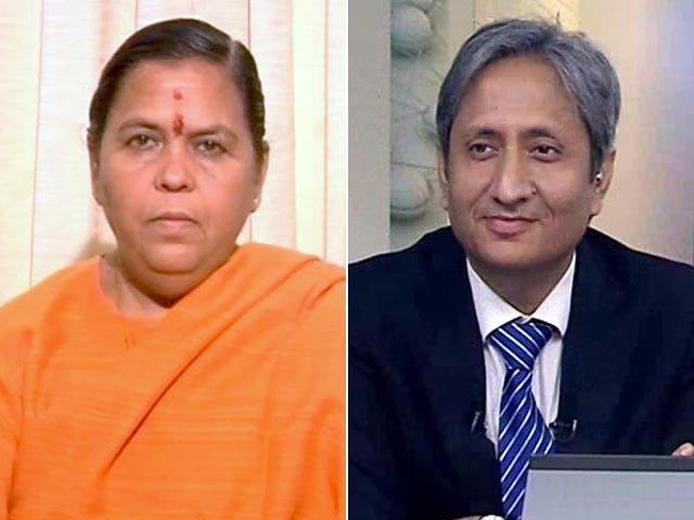 Videos : 2019 में बीजेपी के लिए मुस्लिम समर्थन बढ़ेगा : उमा भारती