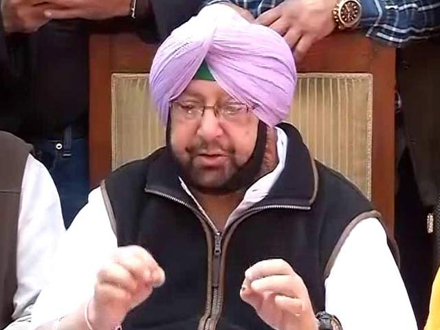 "Video : Kejriwal Was ""Summer Storm, He Came And He's Gone"": Amarinder Singh on Punjab Win"