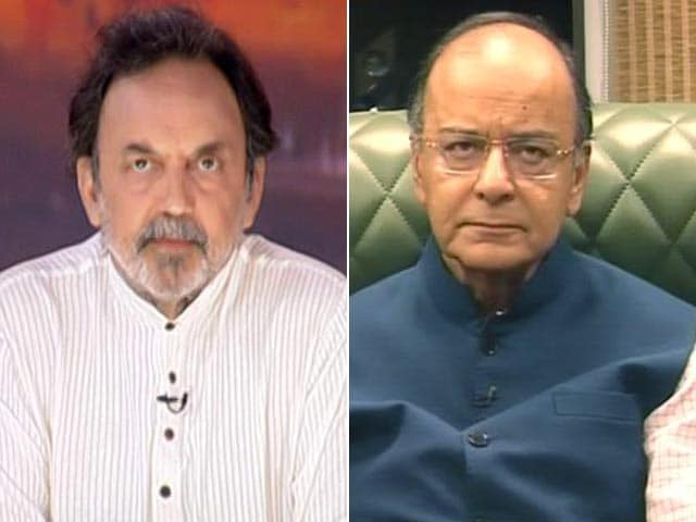 Video : Is BJP Becoming The New Congress? Arun Jaitley Responds.