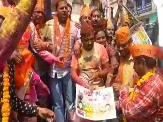 Videos : यूपी में बीजेपी की ऐतिहासिक जीत, खेली गई केसरिया होली
