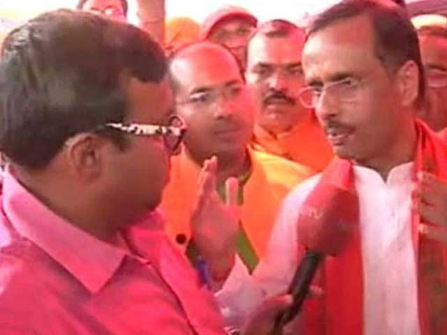 Video : Will Mayor Of Lucknow Be Next UP Chief Minister? Up To Party, He Says