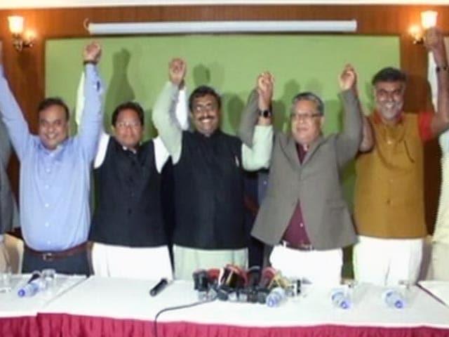 Videos : मणिपुर में बीजेपी ने किया सरकार बनाने का दावा पेश