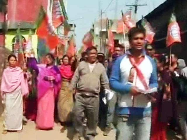 Video : In Manipur, Number 2 BJP Claims Majority, Says Will Pick Chief Minister Today