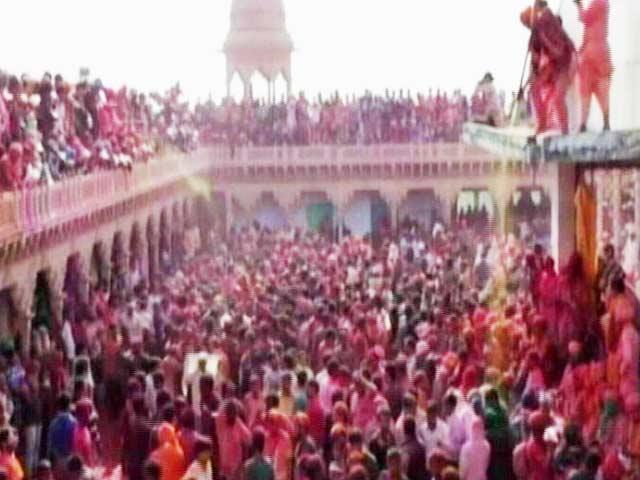 Video : Holi 2017: India Celebrates The Festival Of Colours