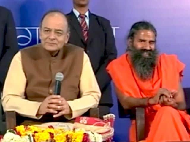 Videos : नोटबंदी का आइडिया बाबा रामदेव से मिला : वित्त मंत्री अरुण जेटली
