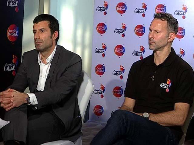 Luis Figo, Ryan Giggs Gung-Ho About Premier Futsal