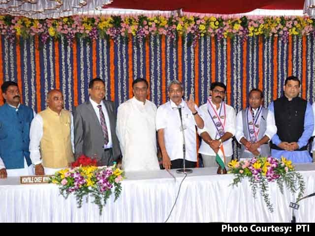 Video : BJP's New Goa Allies Get Most Berths In Manohar Parrikar's Cabinet