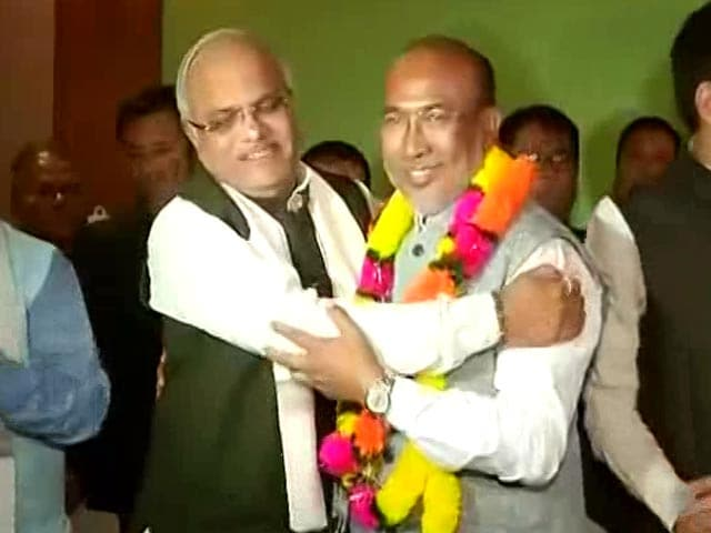 Video : After Goa, BJP Invited To Form Government In Manipur Too. Oath Tomorrow