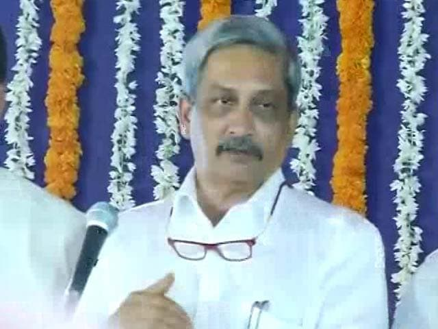 Video : 'Congress Traveling Now By Bus Because...' Manohar Parrikar Mocks Rival