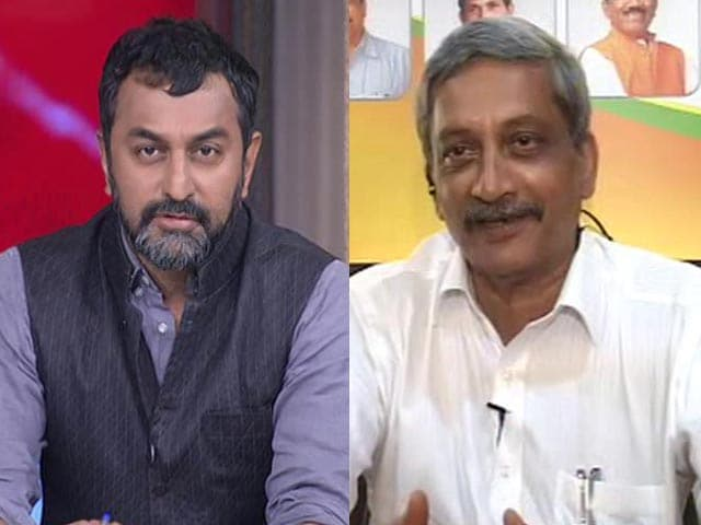 Video : Goa Congress Legislators Want To Join BJP, Says Manohar Parrikar