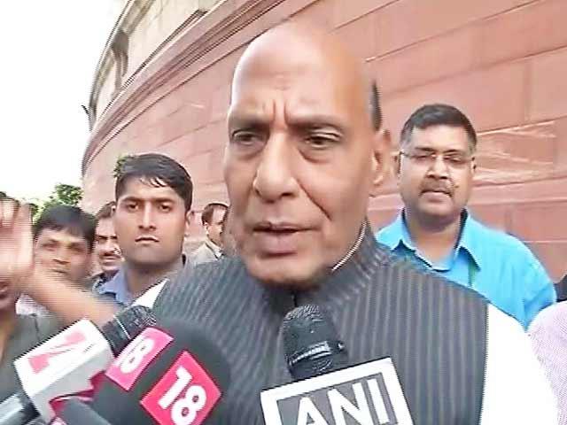 Videos : यूपी में मुख्यमंत्री पद की उम्मीदवारी पर राजनाथ सिंह का जवाब