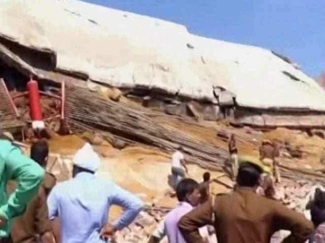 Video : 6 Dead After Cold Storage Collapses In Kanpur, 9 Still Trapped