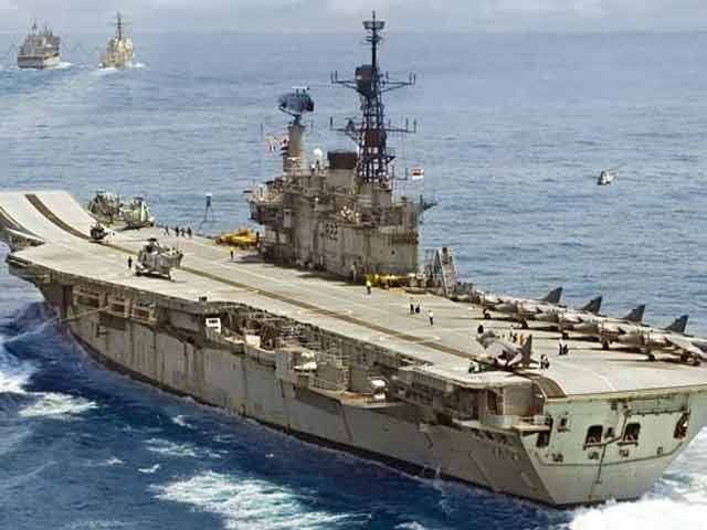 Video : Chief Minister Fadnavis, INS Viraat's Super-Hero? A Proposal For Warship