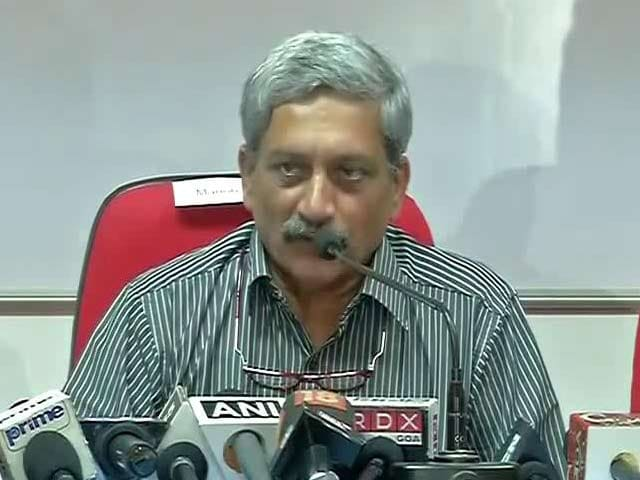 Video : Manohar Parrikar Re-admitted To Hospital With Complaint Of Abdominal Pain