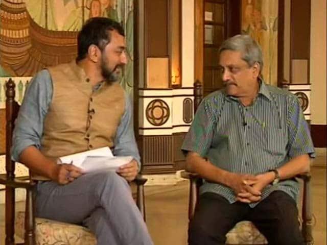 Video : Town Hall With Manohar Parrikar