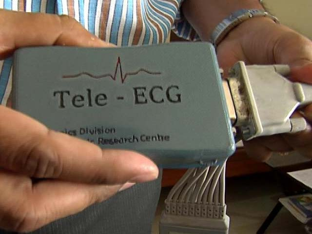 Video : Indian Scientists Develop Credit-Card Sized ECG Machine, Costs Just Rs. 4,000