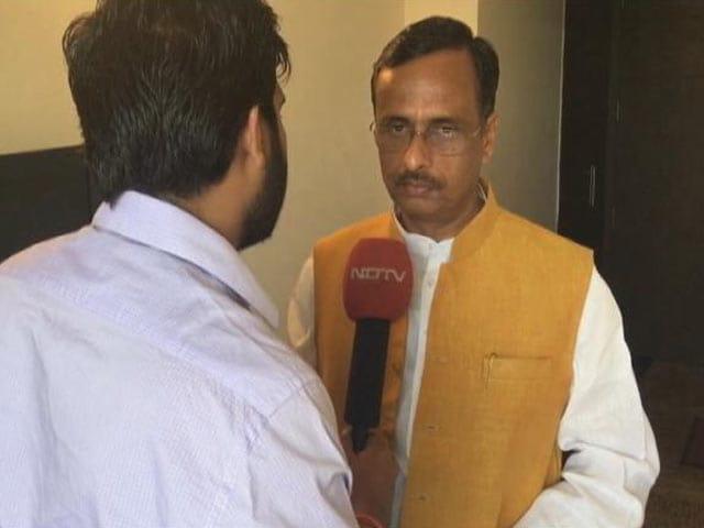 Video : UP में CM का ऐलान कल: बीजेपी नेता दिनेश शर्मा भी रेस में