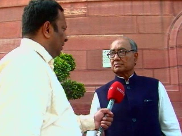Video : 'Why Should I Resign. I Delivered,' Digvijaya Singh After Sabotage Charge