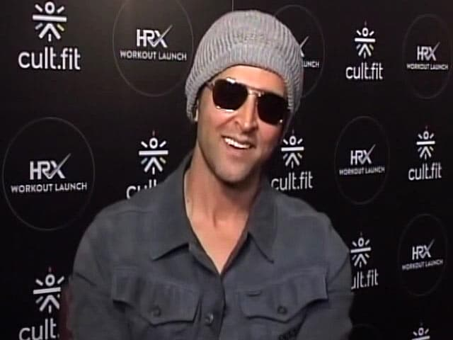 Hrithik Roshan Wants To Help People Through His Fitness Video