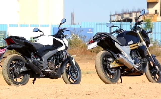 Video : 2017 Geneva International Motor Show, Bajaj Dominar 400 vs Mahindra Mojo Compared