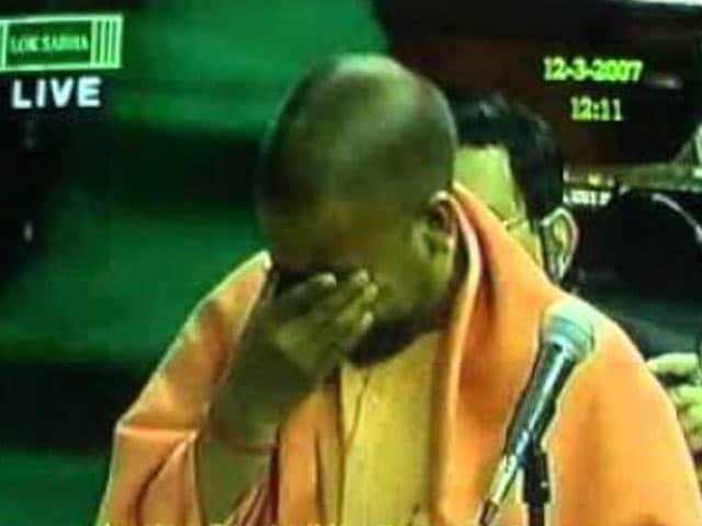 Video : जब संसद में रो पड़े थे योगी आदित्यनाथ