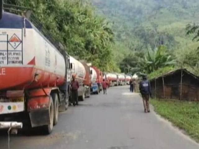 Videos : मणिपुर : 130 दिनों से जारी आर्थिक नाकेबंदी रविवार आधी रात से समाप्त