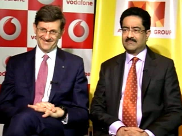 Video : Kumar Mangalam Birla, Vittorio Colao Explain Vodafone- Idea Merger
