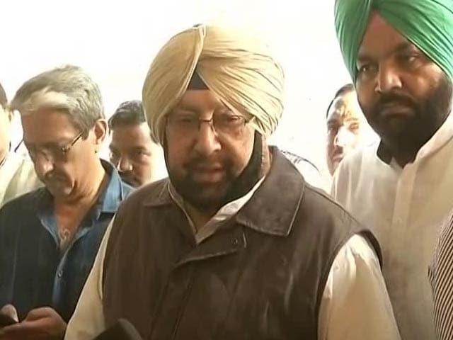 Video : If Sidhu Does TV, Ministry Must Change: Chief Minister Amarinder Singh