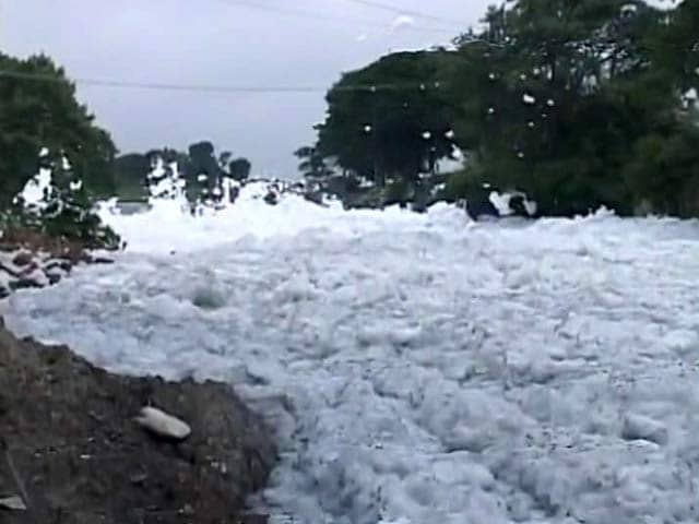 Bengaluru, Shamed By Frothing Lake, Summons International Help