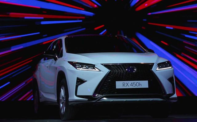 Video : Lexus RX 450h First Look