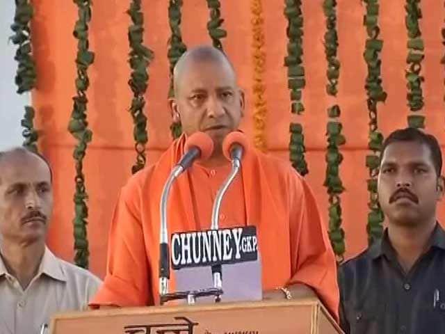 Video : 'Na Jaati, Na Mazhab', Promises Yogi Adityanath In Gorakhpur