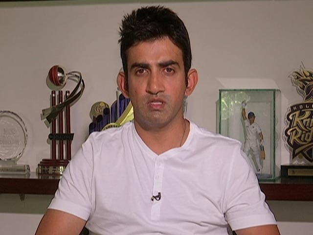 Video : Ongoing India-Australia Series One of The Best Ever: Gambhir