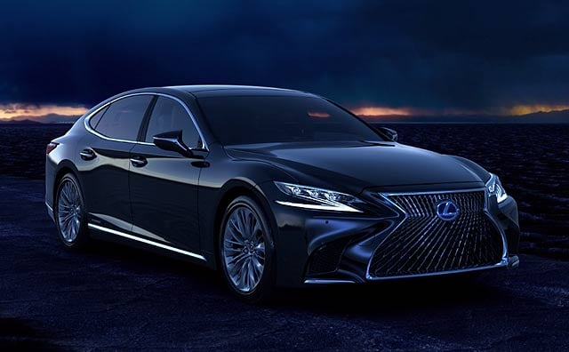 Video : Lexus LS 500h First Look