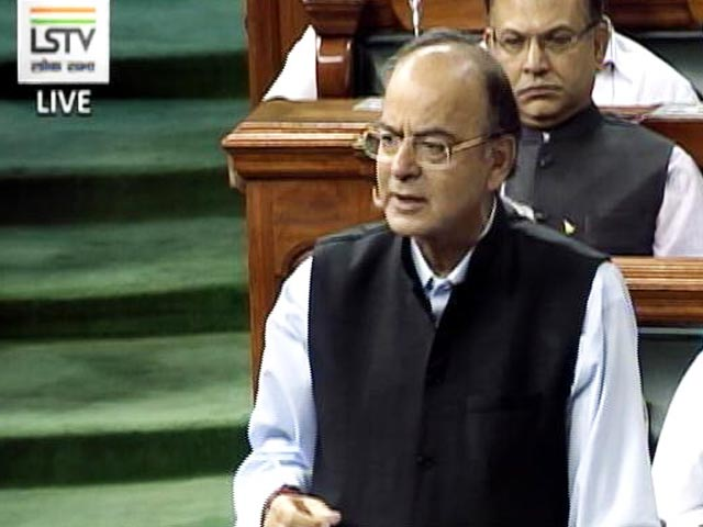 Video : GST Bills Debate: 'Unique Experience' Says Arun Jaitley, Pitching Unified Tax