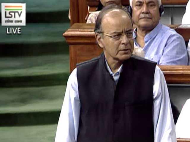Video : Want Simple Tax Regime In India, Says Arun Jaitley In GST Debate