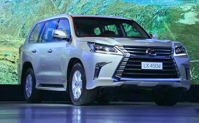 Lexus LX 450d India First Look
