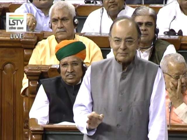 Arun Jaitley's 'Open Invite' To Opposition For Clean Funding