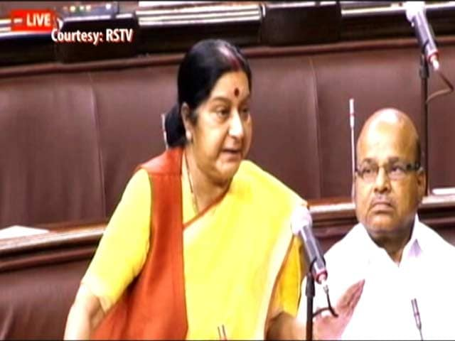 Probe Into Attacks On Africans On, Says Sushma Swaraj