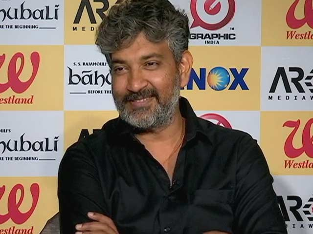 Video : <i>Baahubali</i> Director Reveals The Secret Of Making A 'National Film'