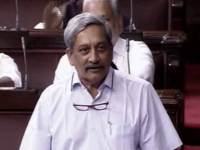 Video : Thank You For Goa, Digvijaya Singh, Says Manohar Parrikar In Rajya Sabha