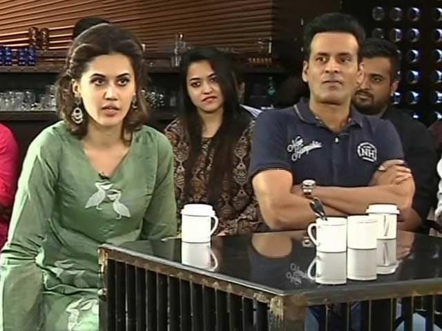 Video : Audience Hooting At Heroine's Action Scenes Is New: Taapsee