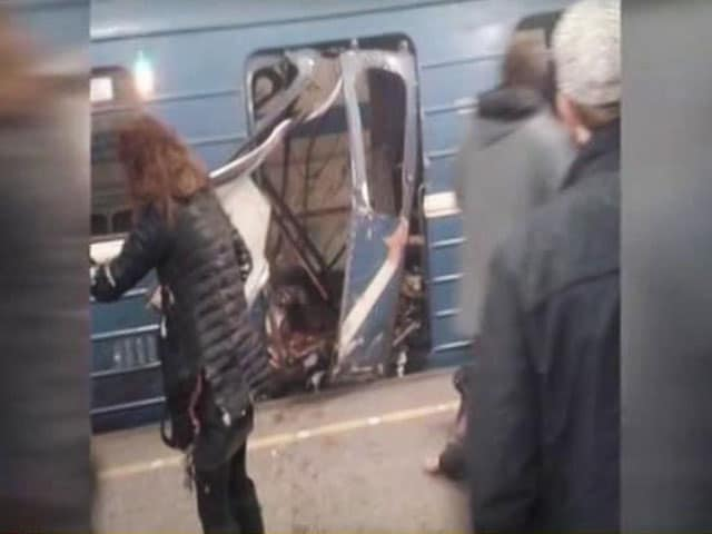 Video : St Petersburg Metro Blast: At Least 10 Killed In Explosions