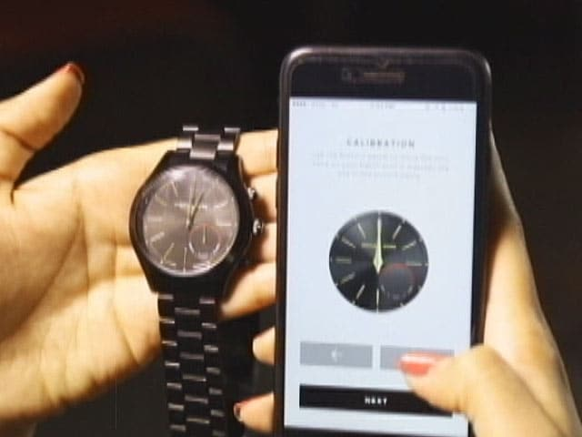 Video : Luxury and Tech in a Smartwatch